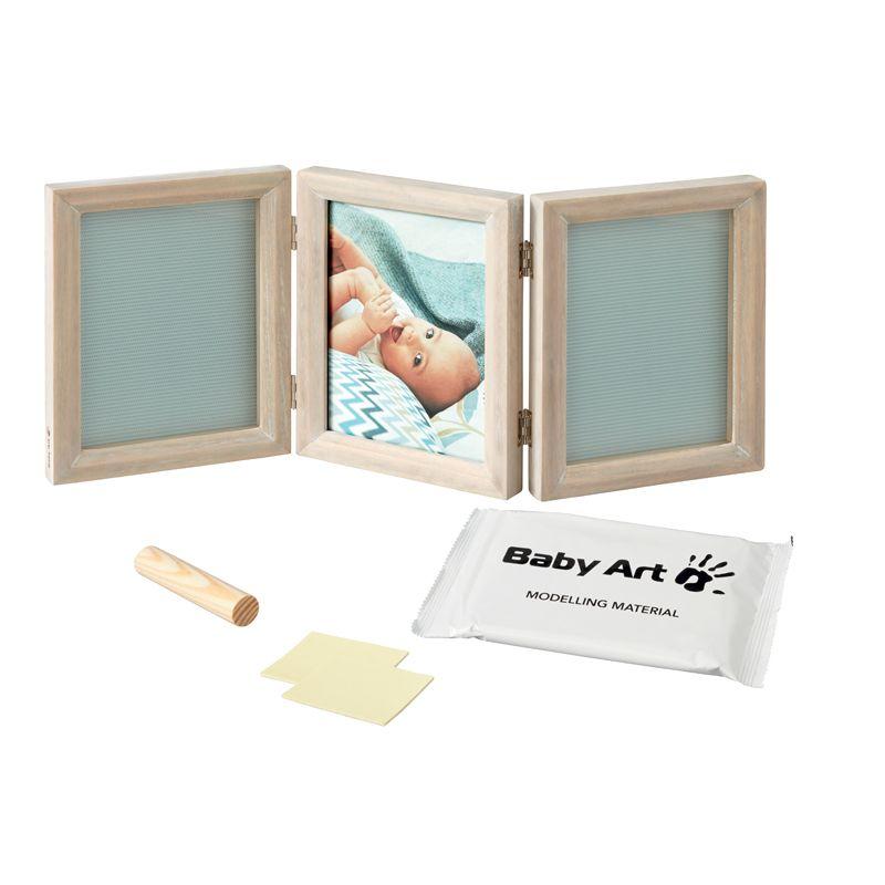 Baby Art Marco de fotos para dos Huellas