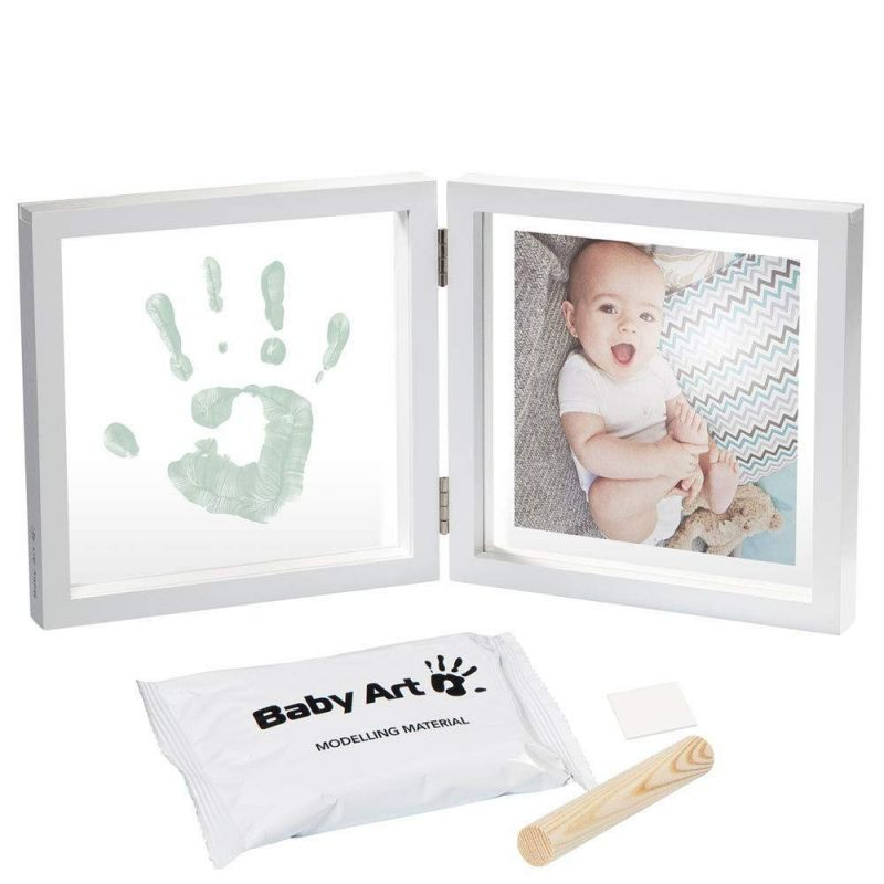 Marco de fotos con huella estilo Transparente - Baby Art