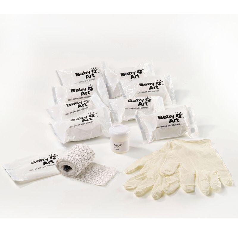 Materiales para hacer molde de la tripa para Embarazadas