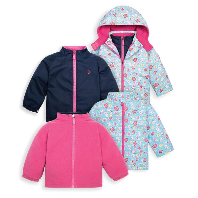 Abrigo para nieve y Lluvia Niños 4 en 1