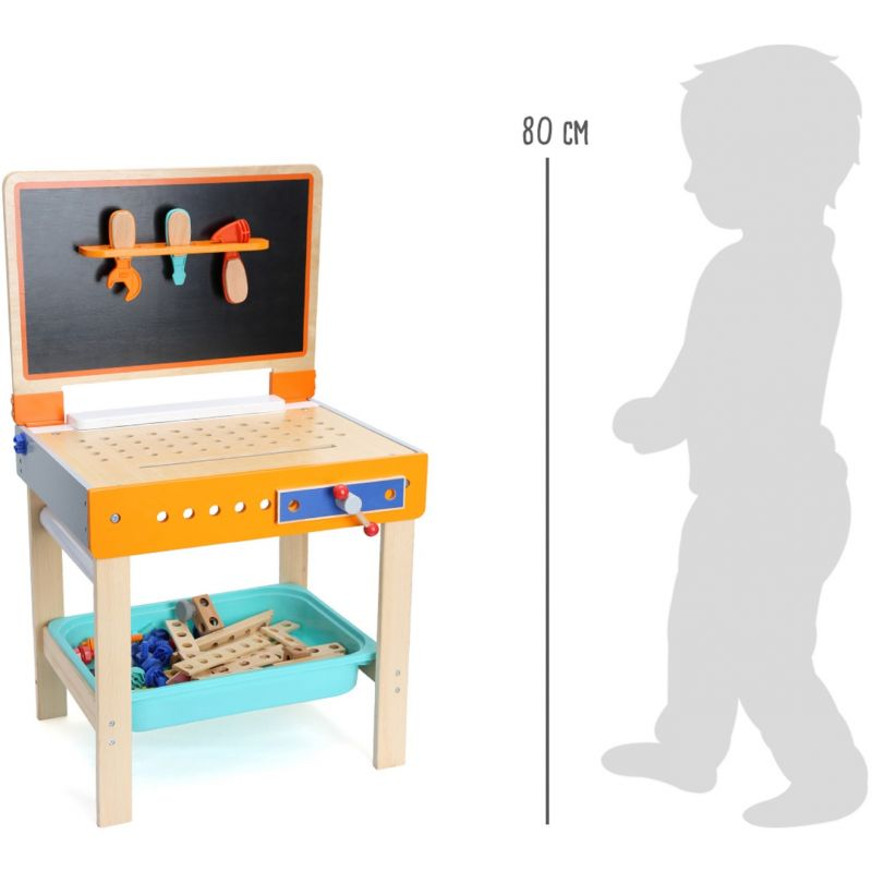 dimensiones Mesa de herramientas con mesa para dibujar