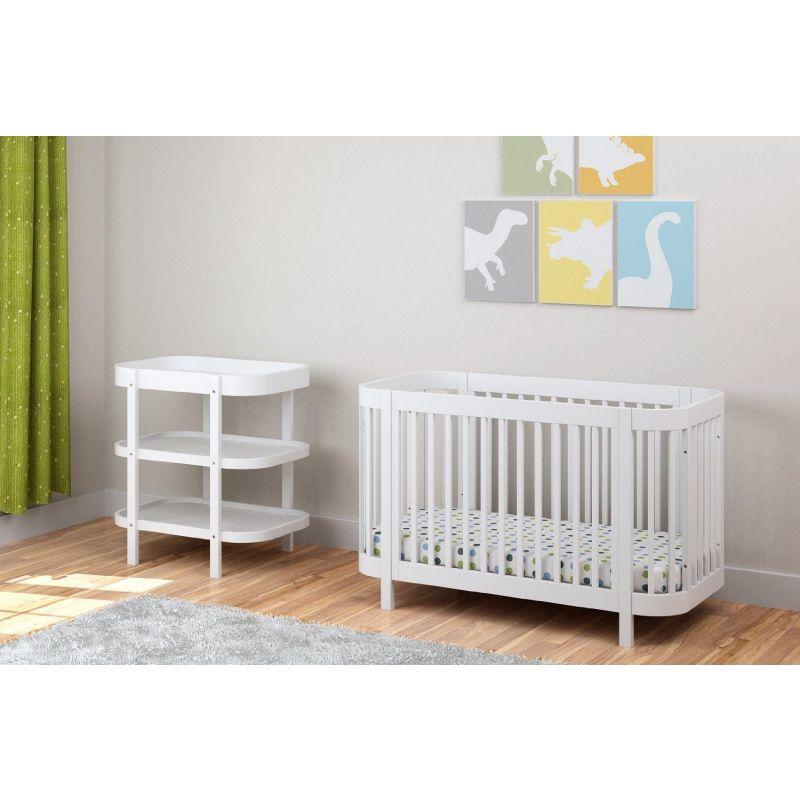 Mesa Cambiador para Bebés Dreama de Kub en color blanco