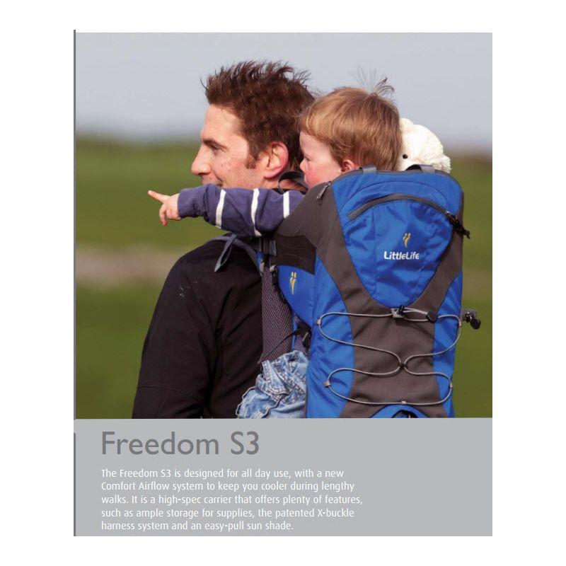 Mochila Portabebés Littlelife Freedom S3