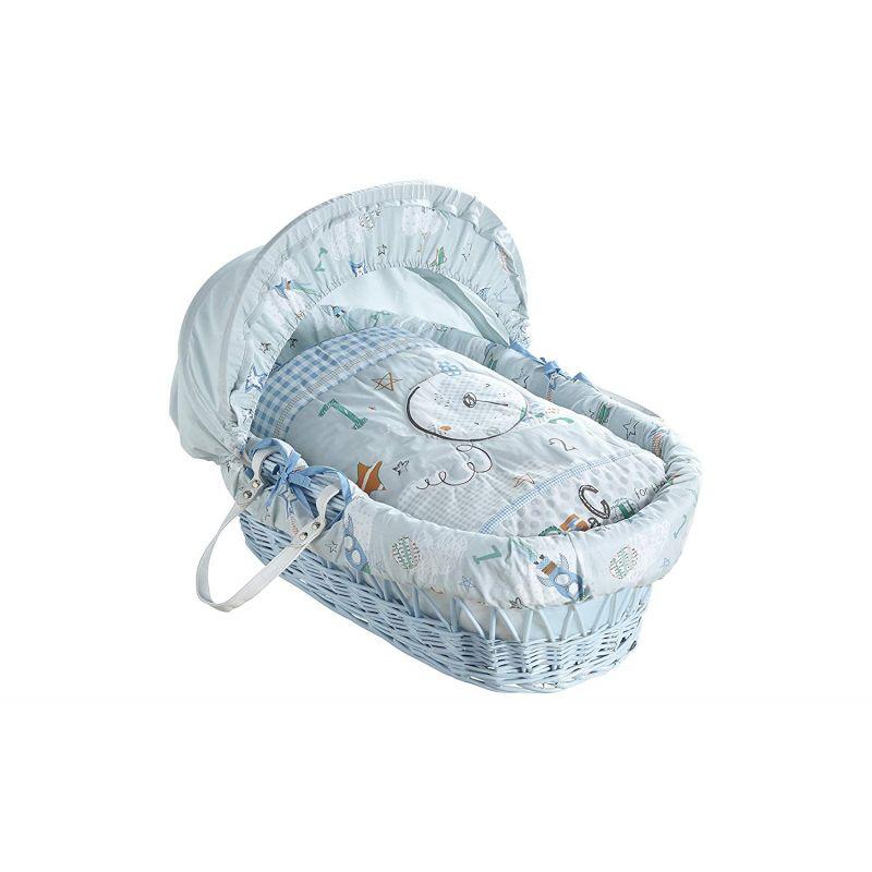 Moisés de bebé azul online