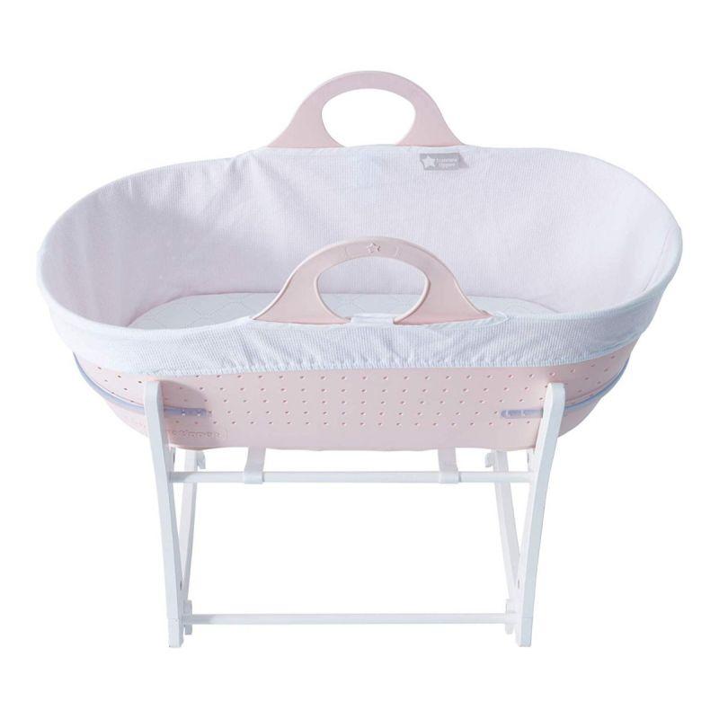 moises para bebé rosa