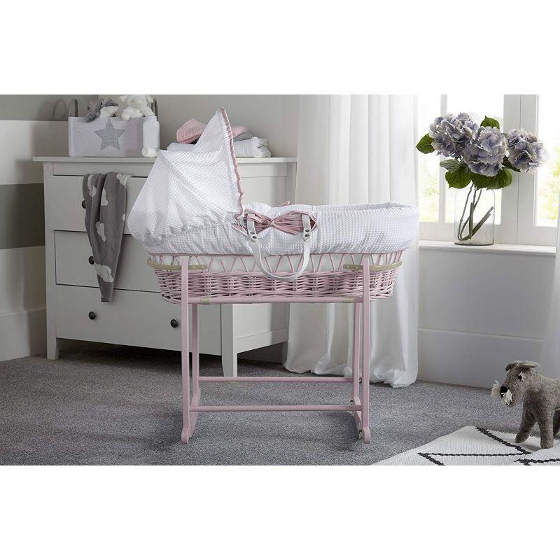 Comprar moisés de bebé rosa online