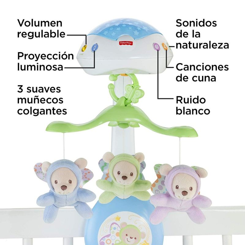 Móvil de cuna Ositos Voladores - Fisher Price