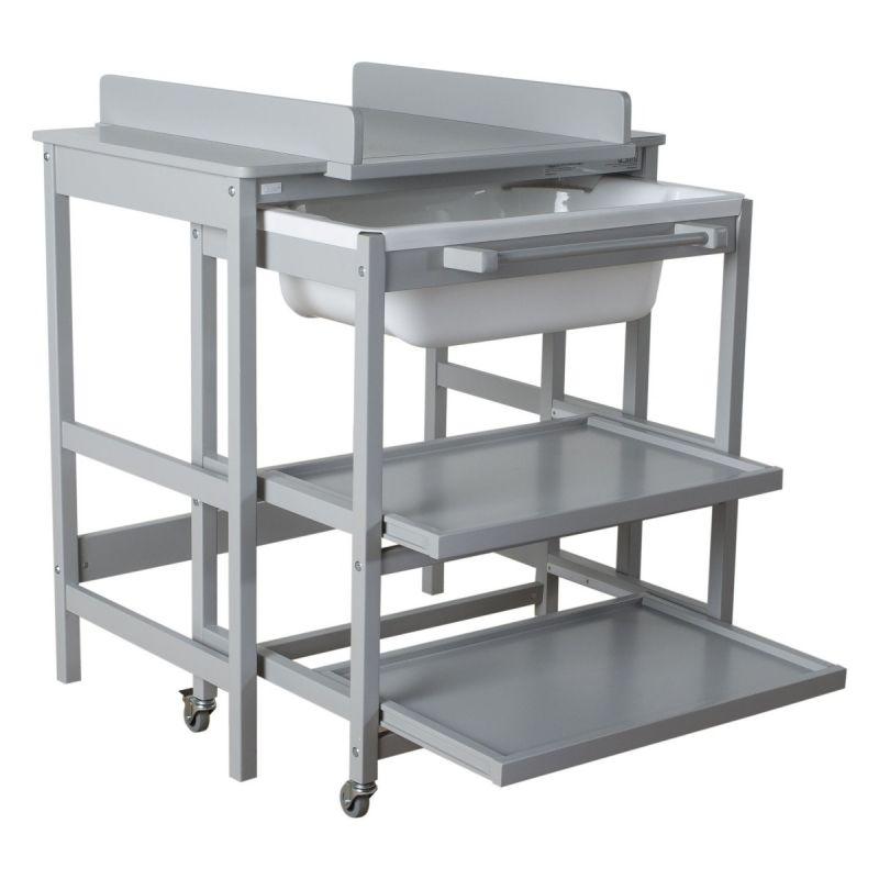 Mueble Baño Cambiador con Bañera Quax Comfort Smart-Griffin Grey