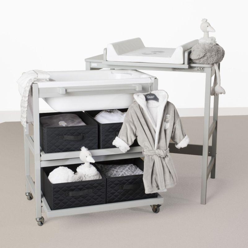 Mueble Baño Cambiador con Bañera Quax Comfort Smart-Nebbia