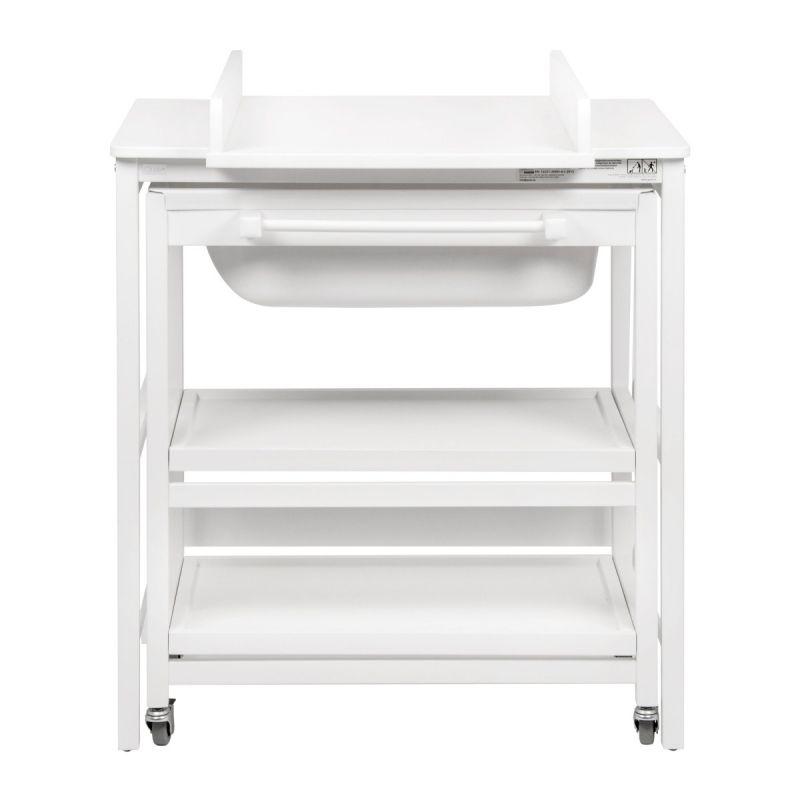 Mueble de Baño Cambiador con Bañera Quax Comfort Smart Blanco