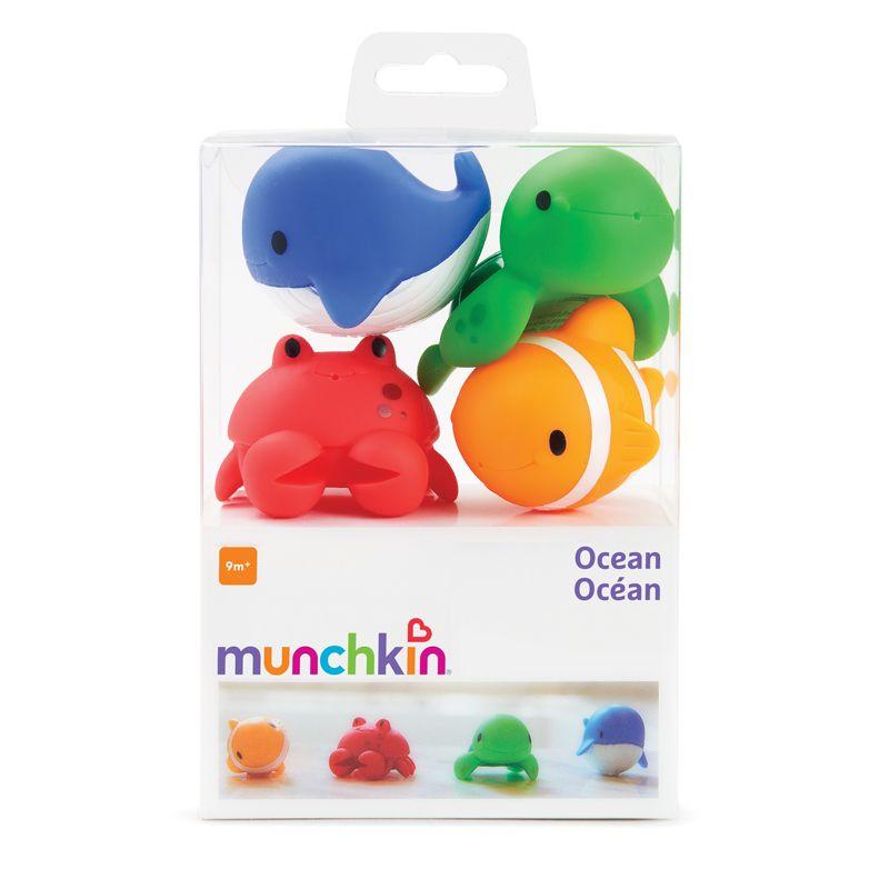 Juguete de Baño Ocean , 4 Unidades - Munchkin