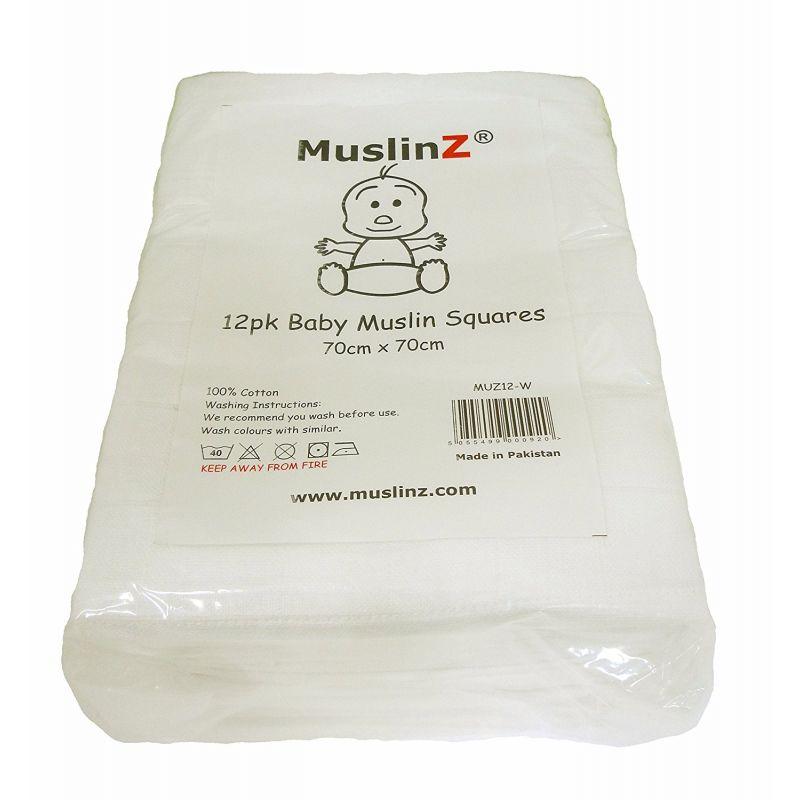 Muselinas blancas Muslinz