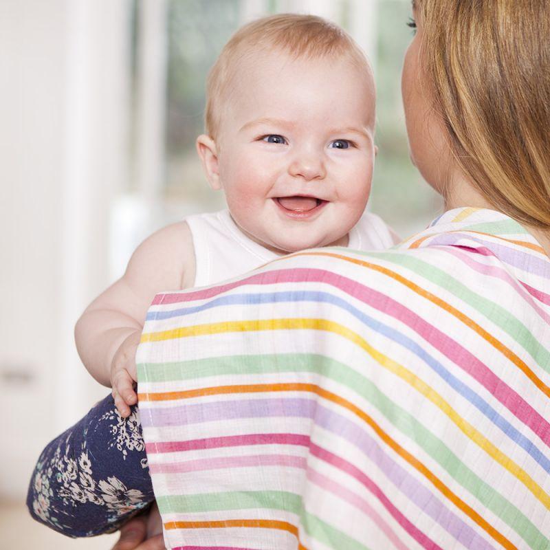 Muselinas de Colores Confeti para bebés