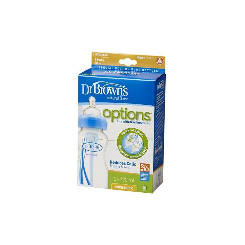 Pack de 2 Biberones 270 ml Dr Brown´s