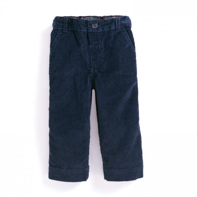 Pantalón de Pana Clásico para Niño en color navy