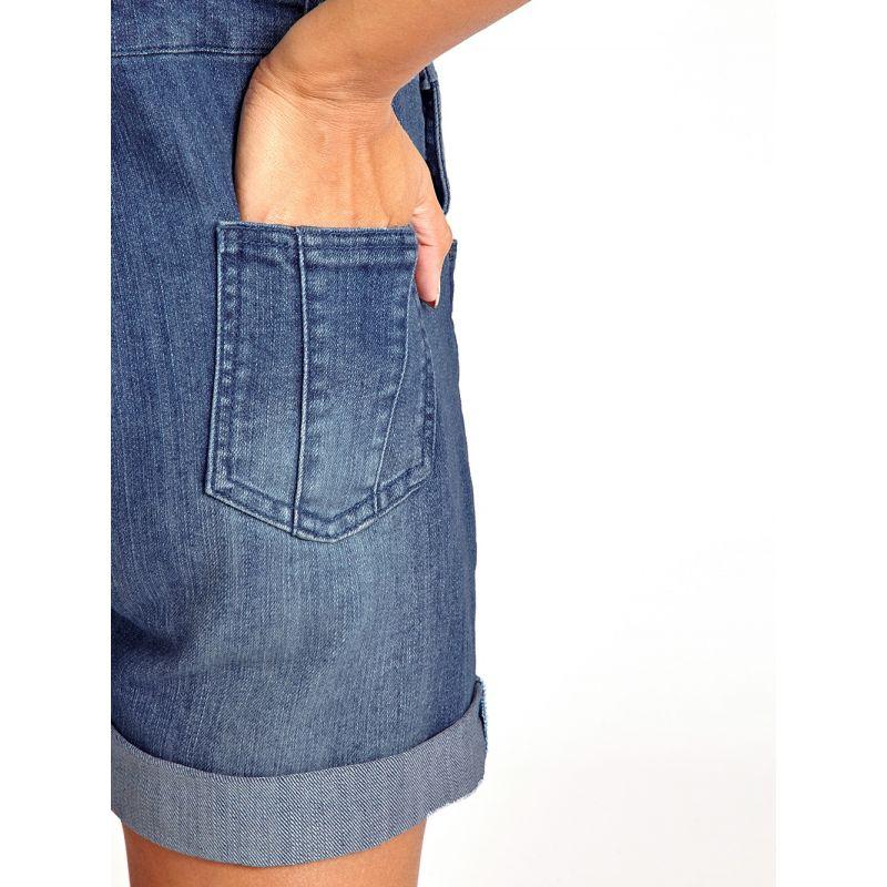 Pantalón de Peto Premamá Corto