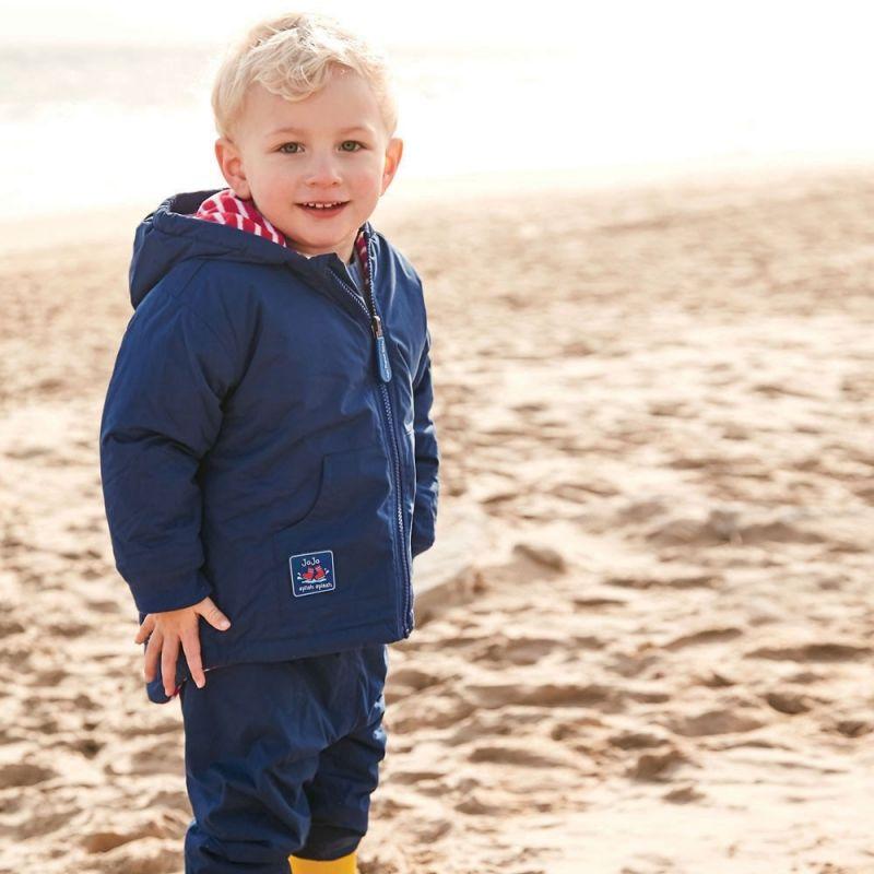 Pantalón Impermeable Bebés y Niños en color azul