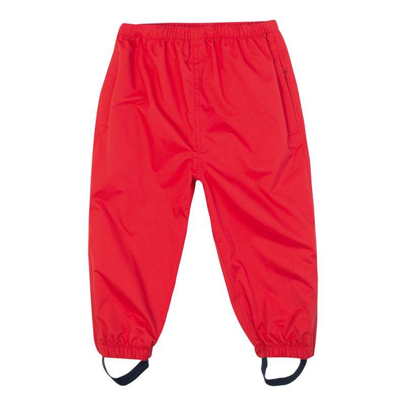 Pantalón Impermeable Bebés y Niños en color rojo