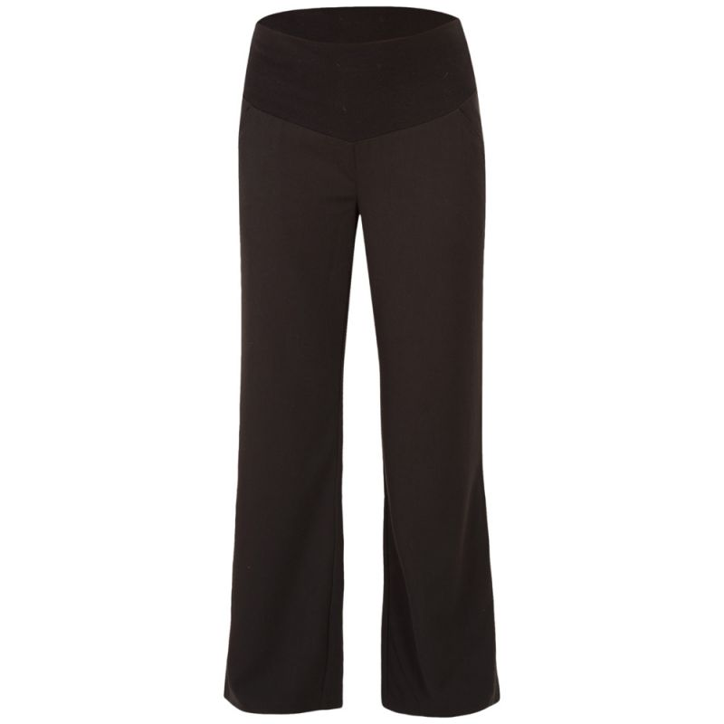 Pantalon premamá de Pierna Ancha en color Negro