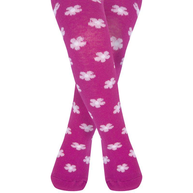 Panties Bebé y Niña estampado Flores Frambuesa