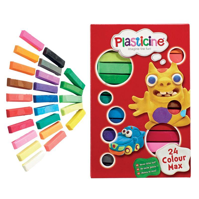 Paquete de Plastilina - 24 colores Incluidos