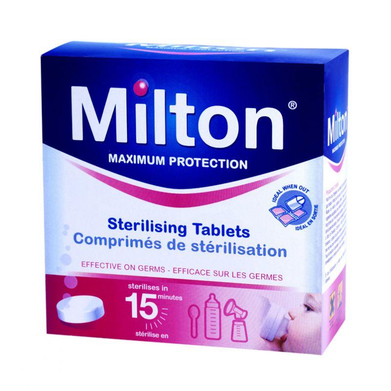 Pastillas Esterilizadoras Milton - 28 unidades