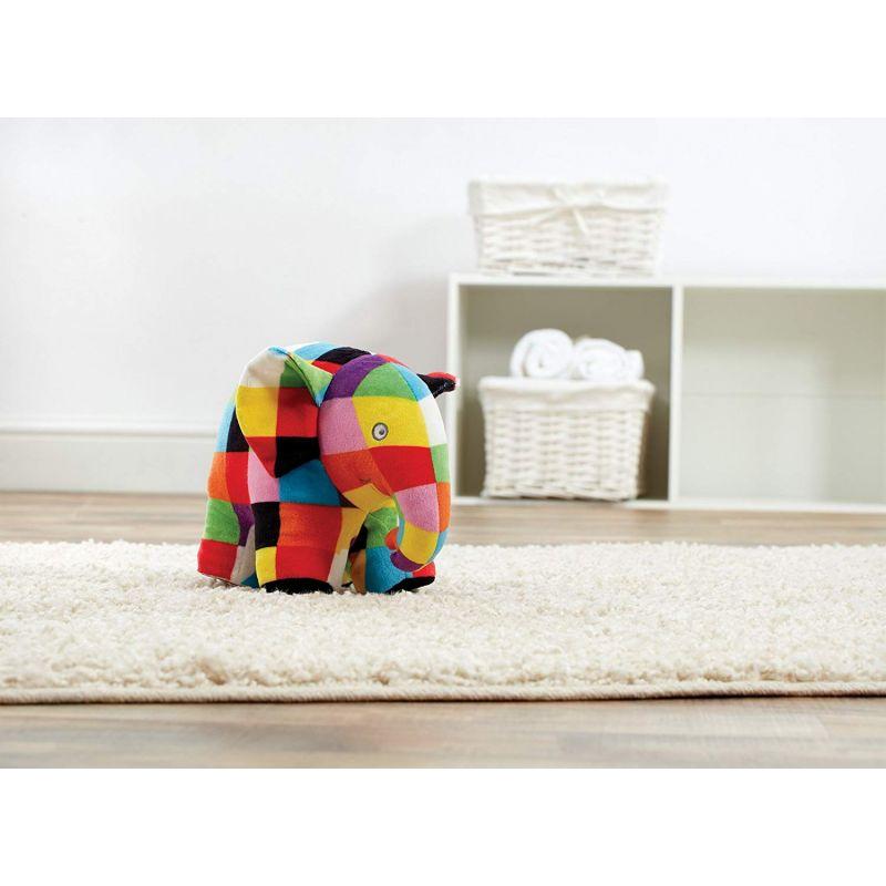 Peluche Elmer el elefante 20 cm de altura