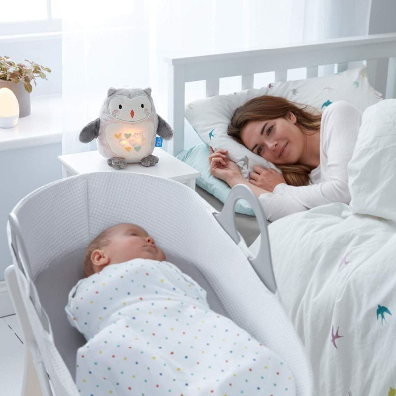 Peluche Duermebebés con sensor de llanto Grofriend, Percy el Pingüino