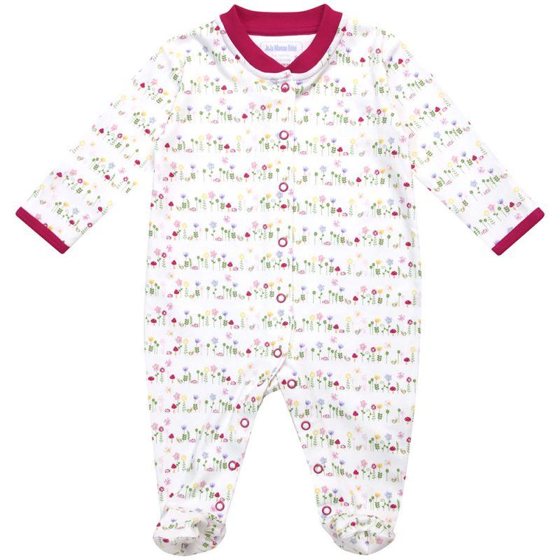 Pijama para Bebé con Estampado Floral