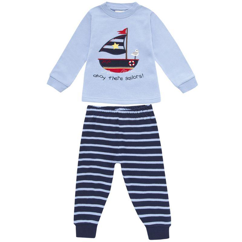 Pijama Largo de Niño con estampado Marinero