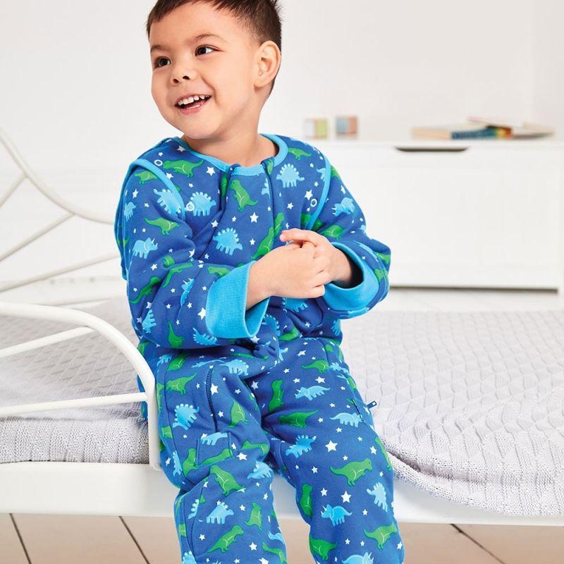 pijama manta para bebés y niños dinosaurios