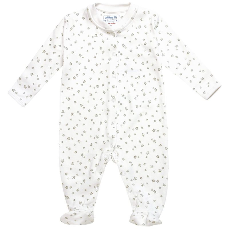 Pijama Bebé Estrellitas Grises