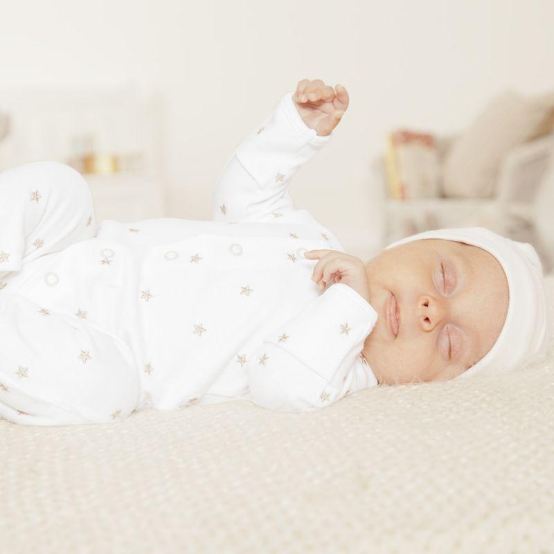 Pijama Bebé Bordado Unisex Estrellas