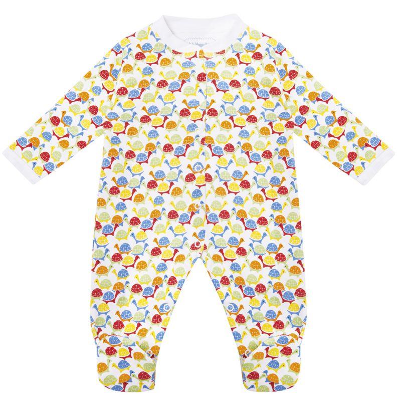 Pijama Bebé de algodón con estampado de tortugas