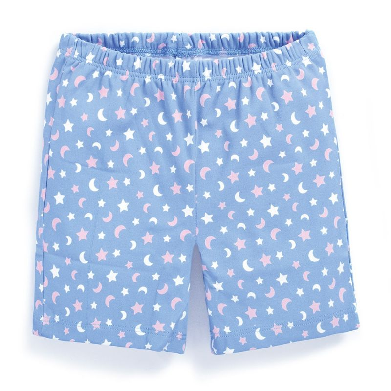 Pijama Corto de Niña Buhos