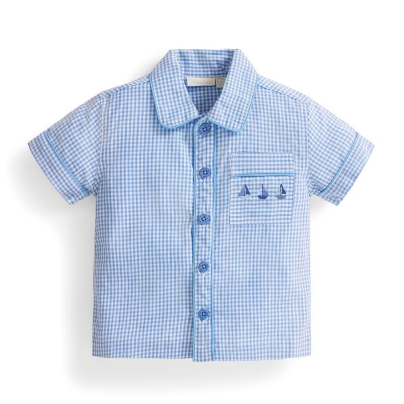 camiseta de Pijama Corto para Niño Marinero