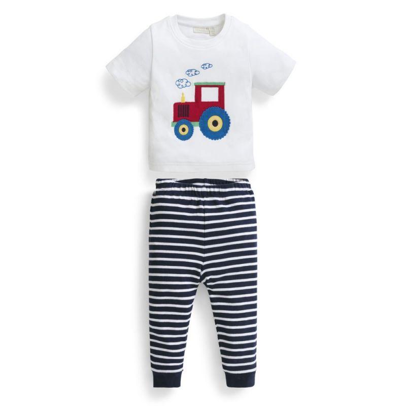 Pijama Corto para Niños Tractor