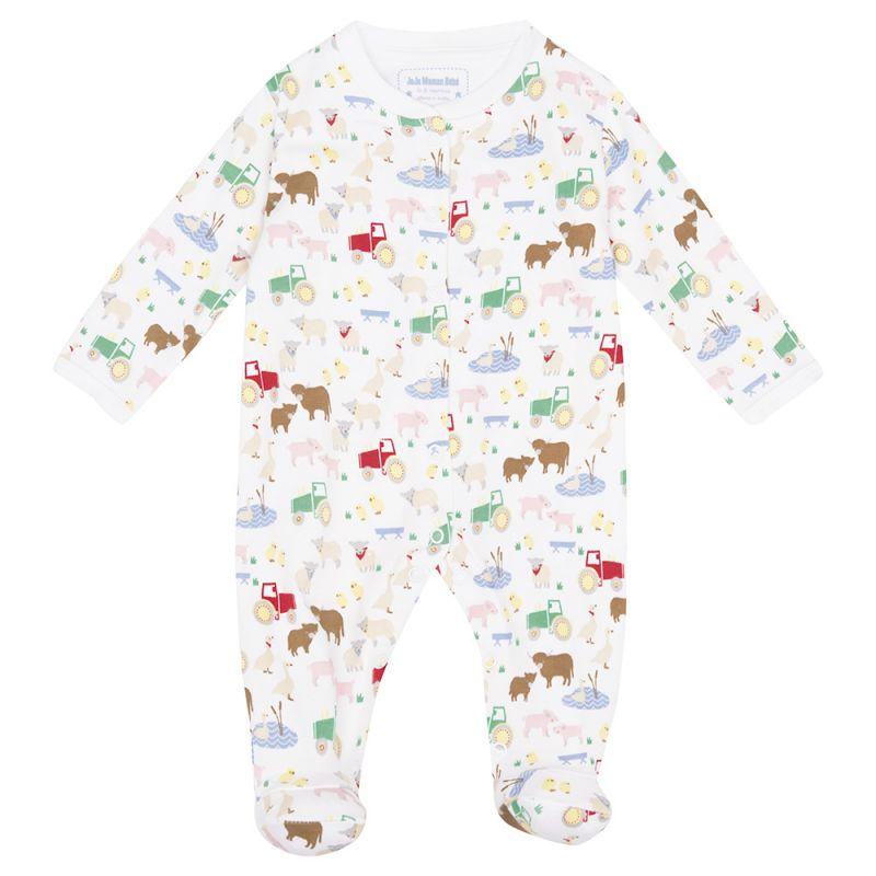 Pijama de Bebé estampado Animales de la Granja