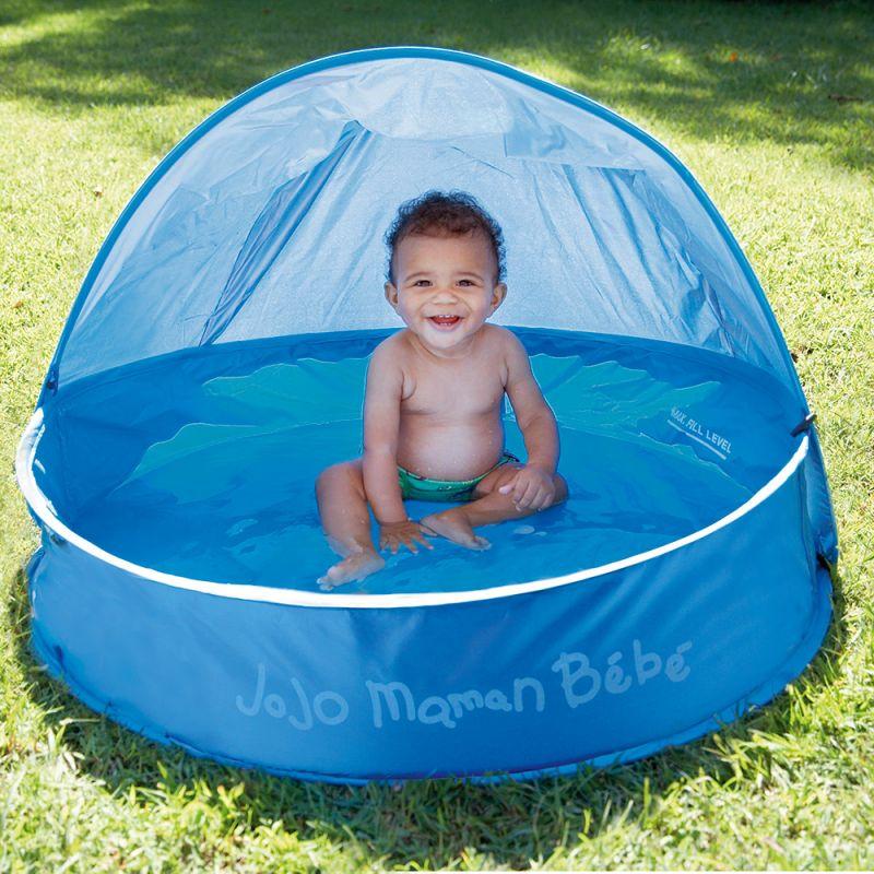 Piscina Bebés con capota protectora solar