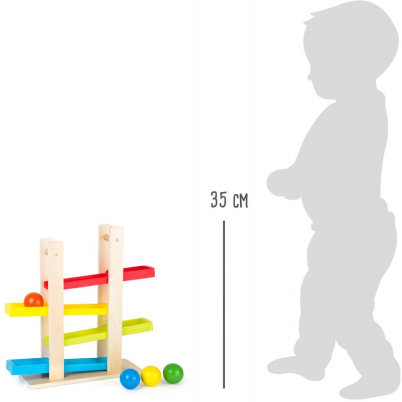 Pista de Bolas compacta - A partir de 18 meses