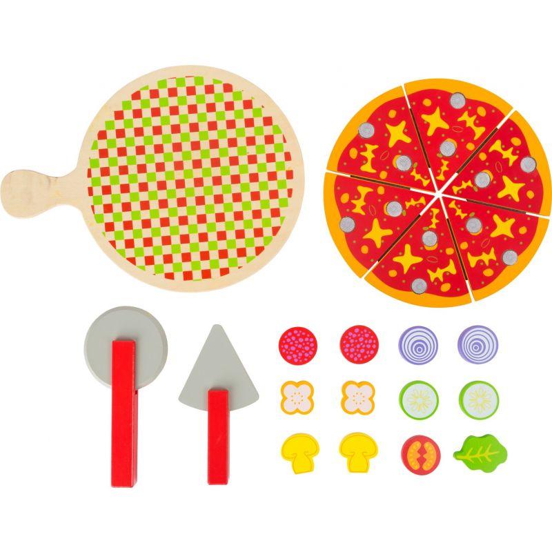 Pizza - Juguete de madera