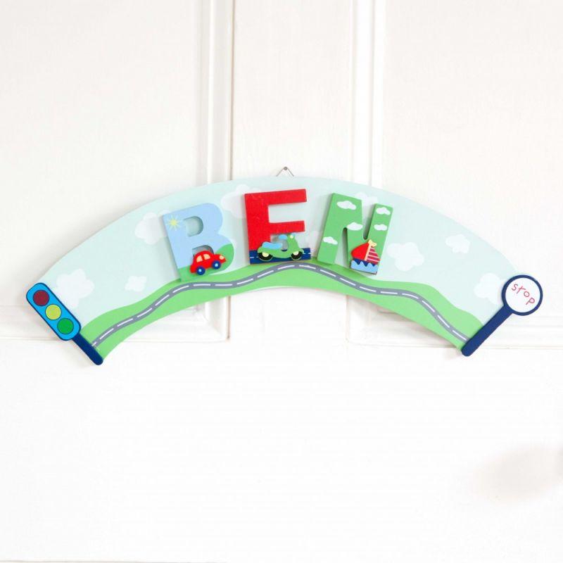 Placa Arco para Colgar Letras Infantiles
