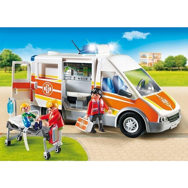 Playmobil - Ambulancia con luces y sonido