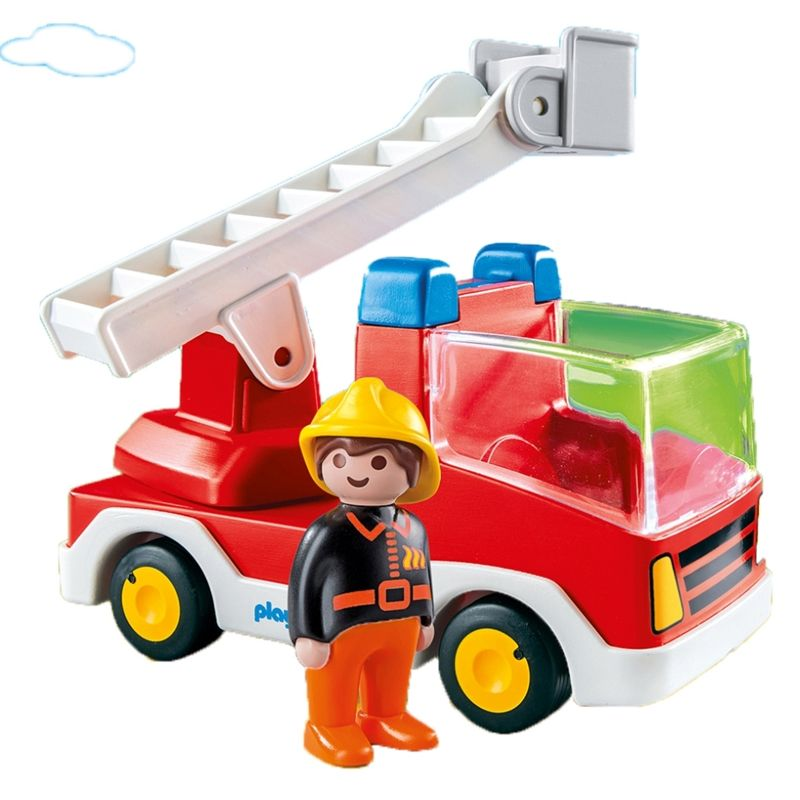 Playmobil 1.2.3 - Camión de Bomberos