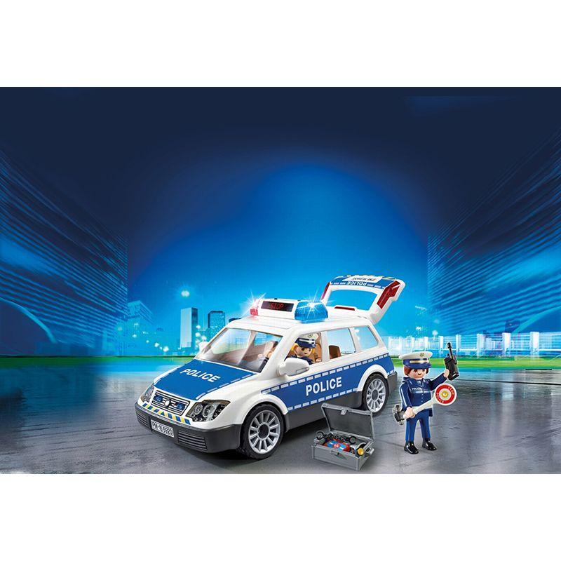 Playmobil Coche de Policía con Luces y Sonido