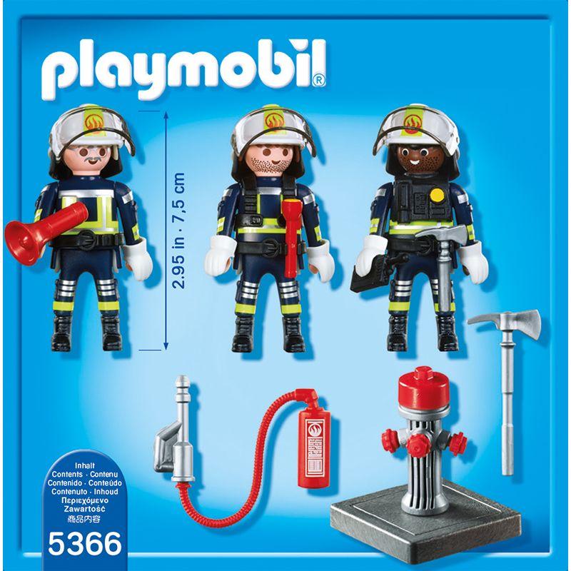 Playmobil Equipo de Rescate de Bomberos