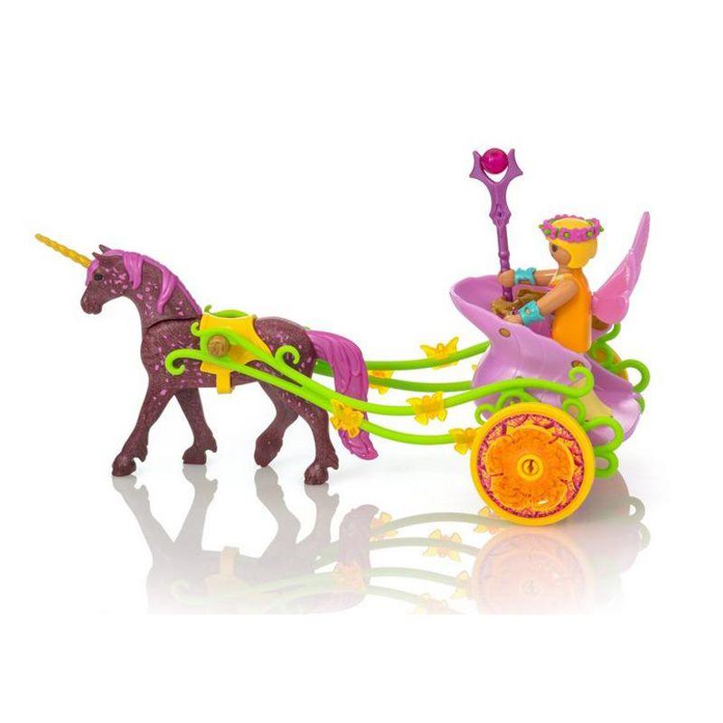 Playmobil Unicornio con Hada en el carro