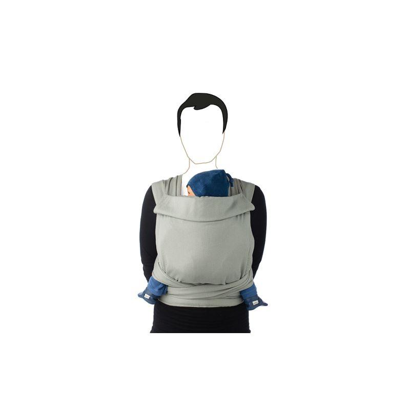 Portabebé BB-Tai Jacquard gris - Babylonia