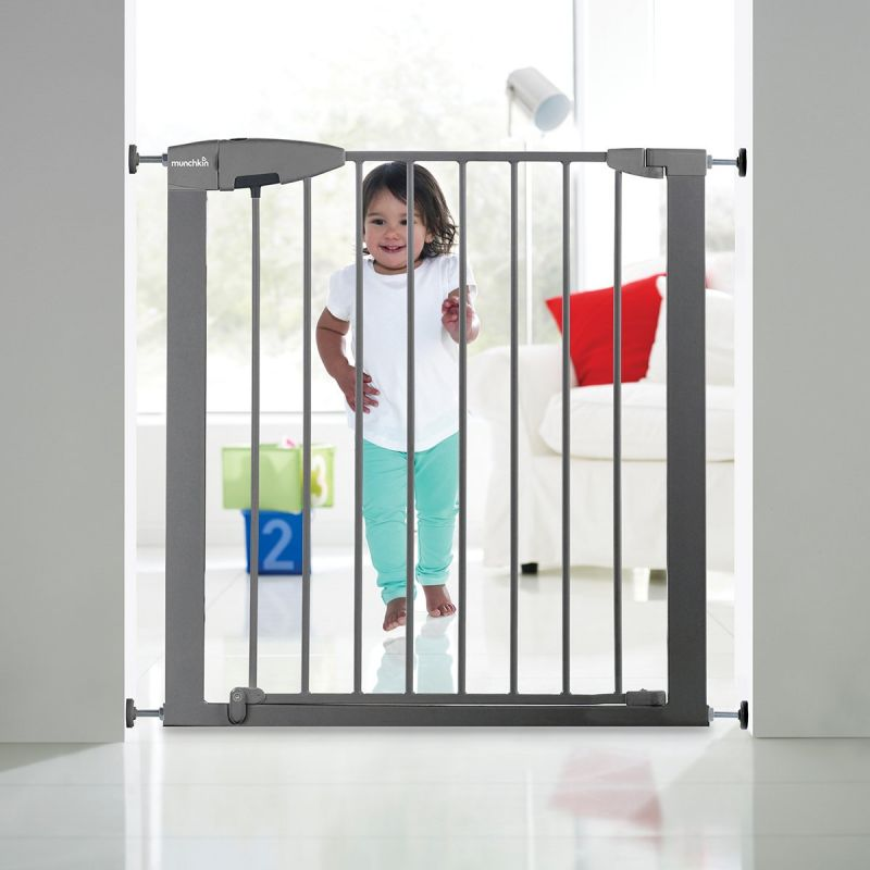 Puerta de Seguridad Munchkin Easy Loc gris