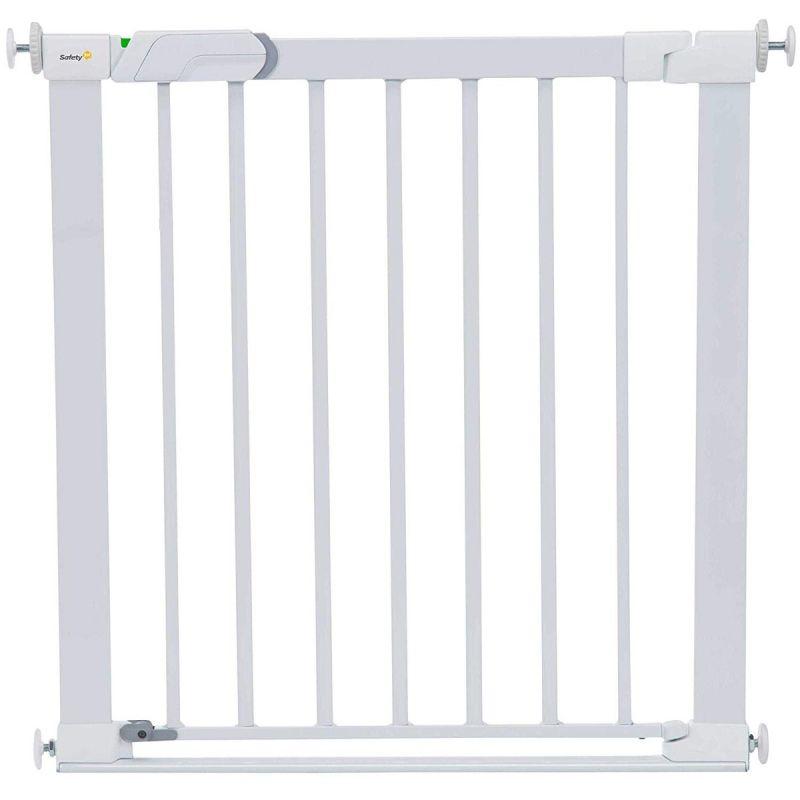 Puerta de seguridad de metal con Cierre a presión Safety 1st